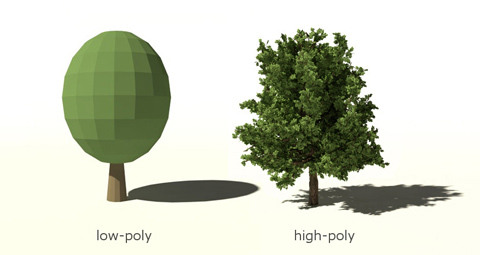 low-high poly comparison x480